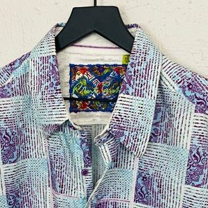 Robert Graham Classic Fit Button Down - Sz 2XL